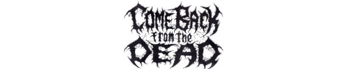 logo-Come Back from the Dead